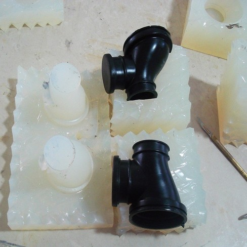 Plastic mould making low volume production Silicone modeling