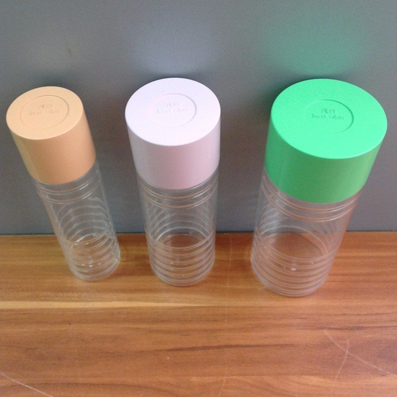 Household Transparent plastic CNC Machining Seasoning Bottles