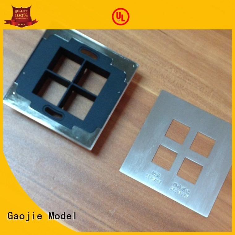 brass model metal rapid prototyping Gaojie Model Brand