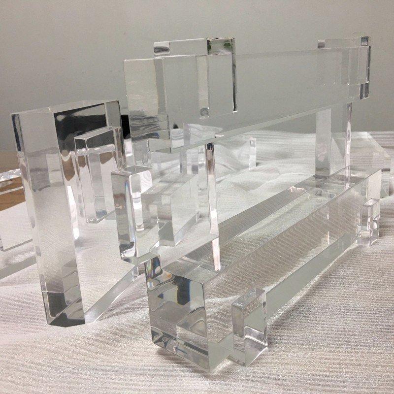 Qualified CNC Machining Custom Transparent  Plastic Parts
