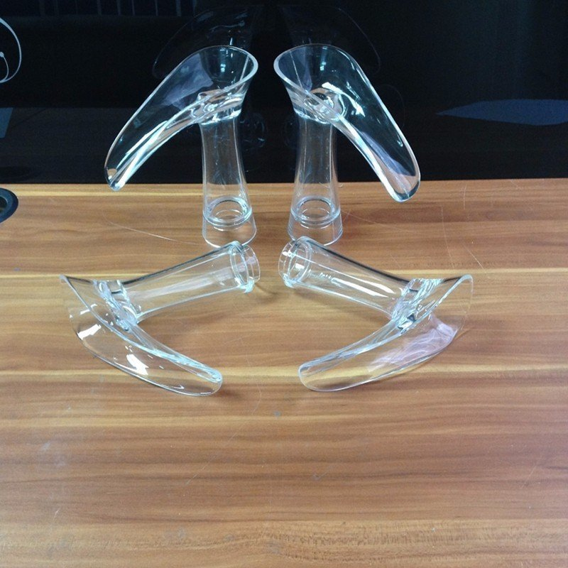 Glass modeling for 3d rapid prototype