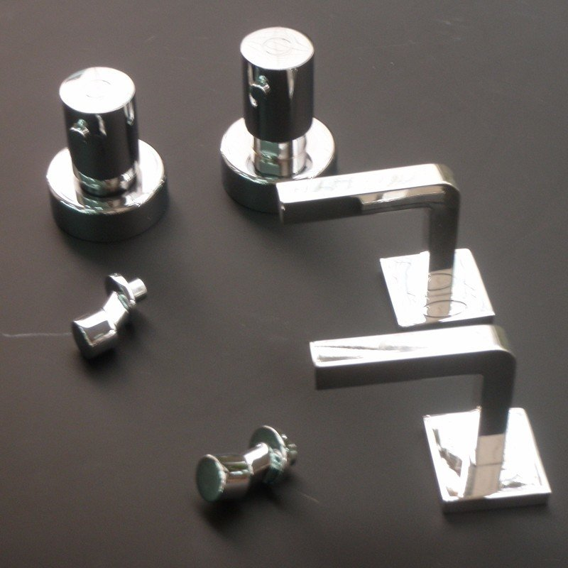 High precision 3d prototyping Electroplating plastic water tap