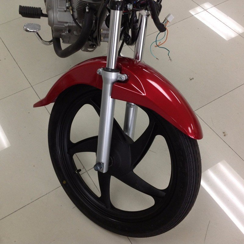 CNC machining polished plastic and metal Motorcycle parts