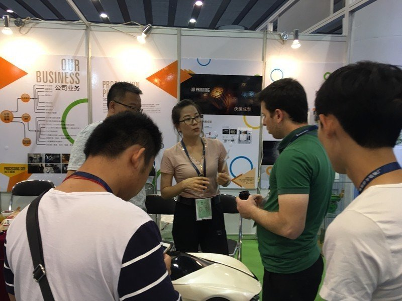 2016.05 Guangzhou International 3D Printing Exhibition