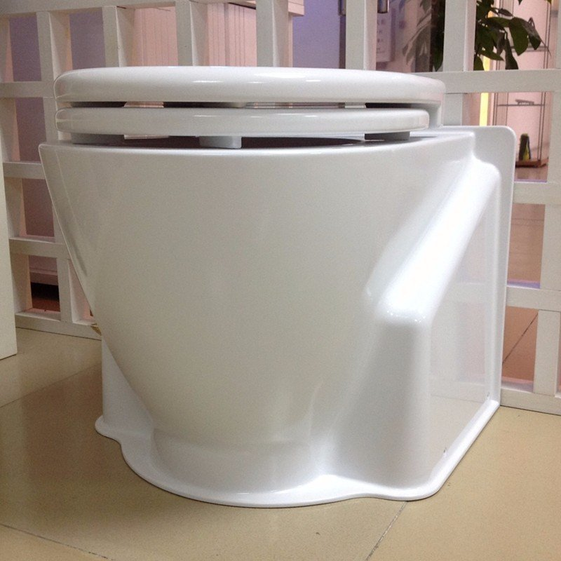 Qualified metal and plastic toilet model cnc machining service