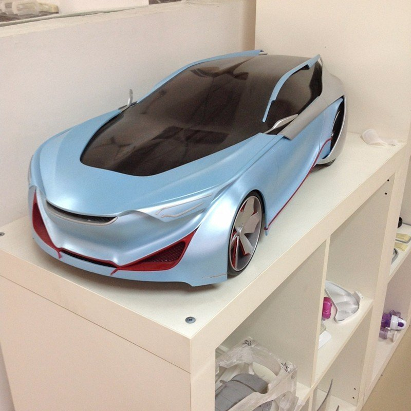 CNC Plastic parts Car model prototyping services