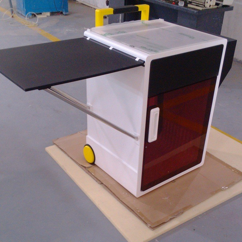 Economic CNC Machining Plastic cabinet for office or household