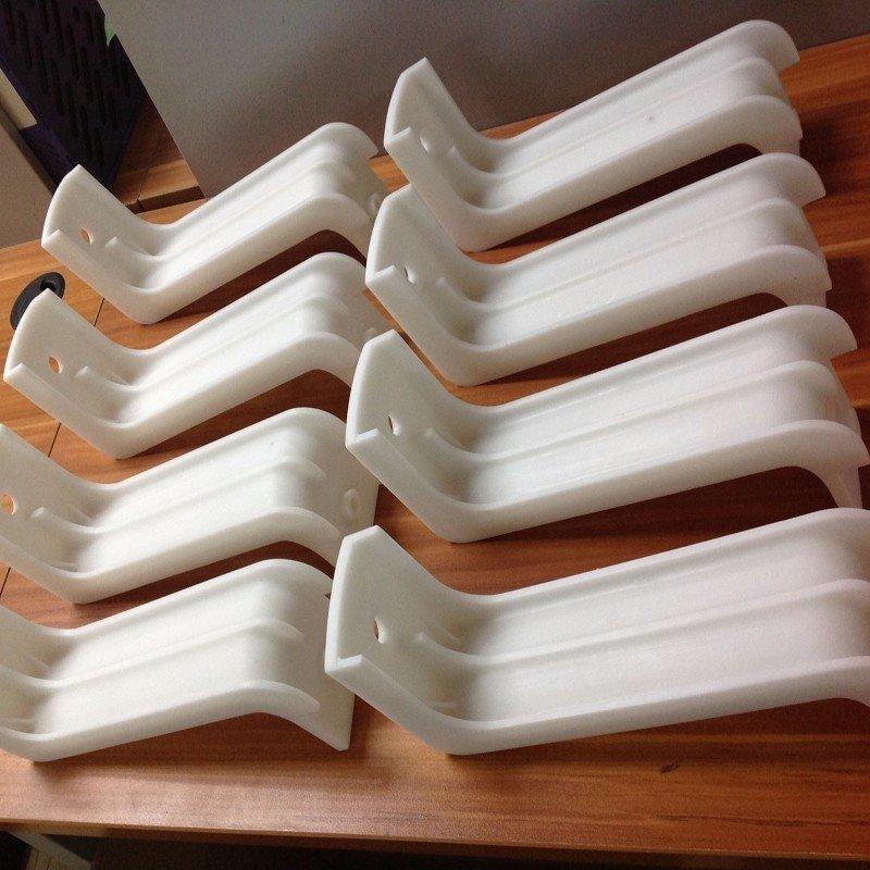 Silicone Molding low volume White Plastic production prototypes