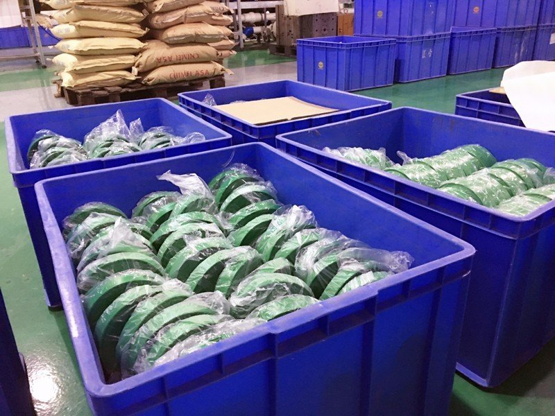 Semi finished injection goods warehouse