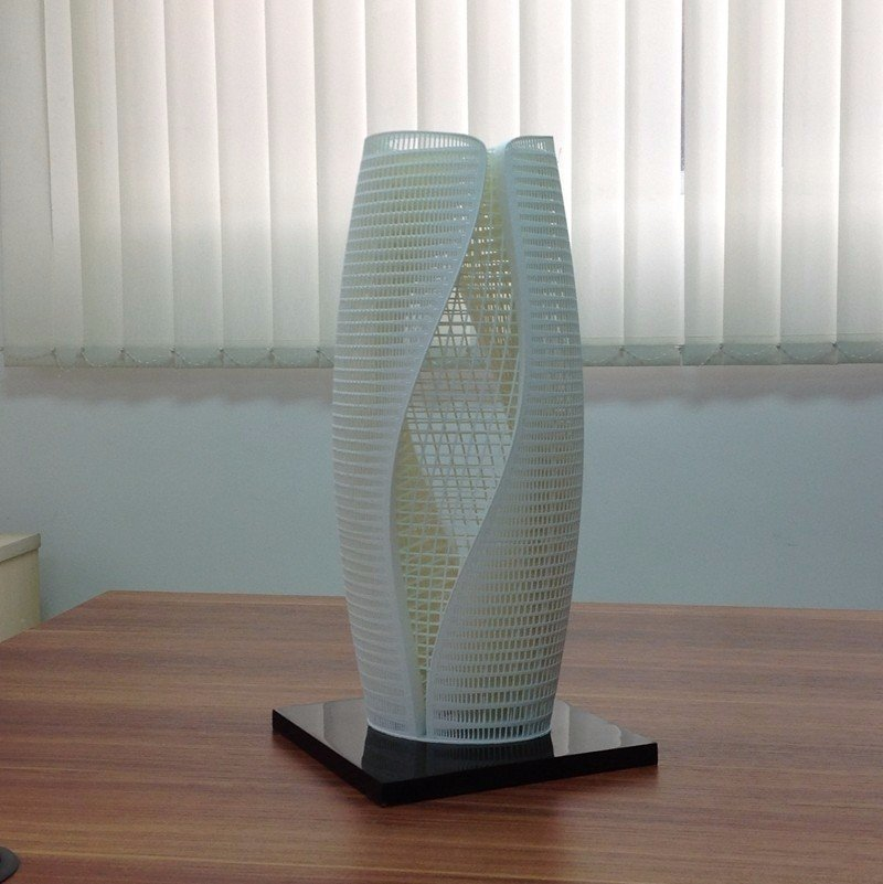 3d printing custom sla products building models