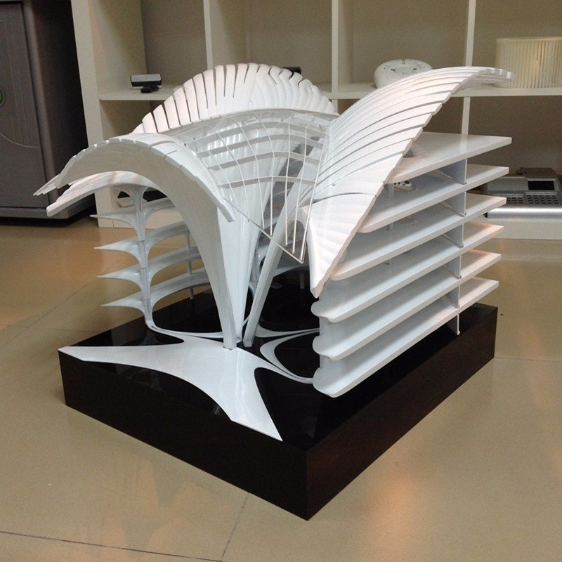 High Accuracy Advance 3D rapid prototyping Famous building model