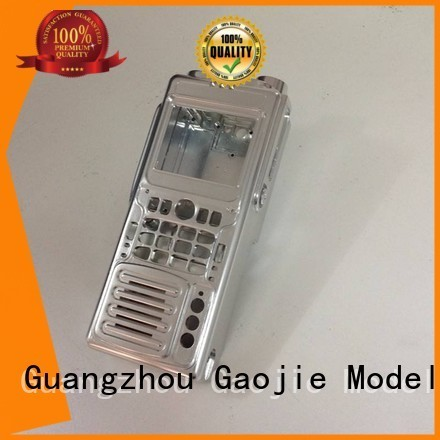Gaojie Model Brand spare structure walkie Metal Prototypes manufacture