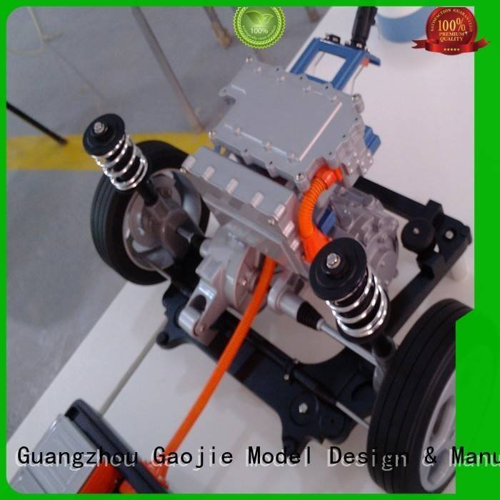 machining advance cnc plastic machining Gaojie Model Brand