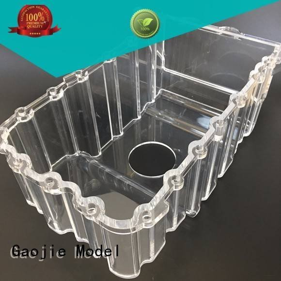 Hot 3d print transparent plastic plastic Transparent Prototypes cnc Gaojie Model