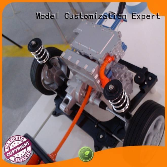 Gaojie Model Brand device north painted cnc plastic machining
