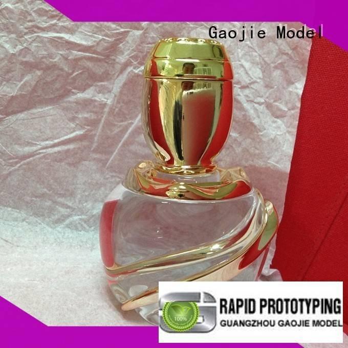 Gaojie Model 3d print transparent plastic prototypes large pmma