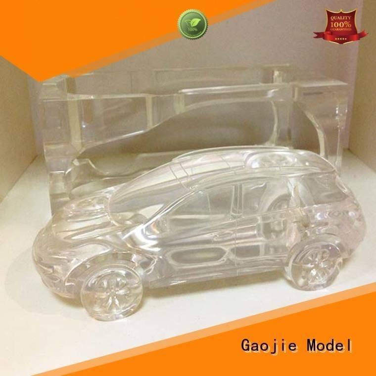 3d print transparent plastic transparent precision Warranty Gaojie Model