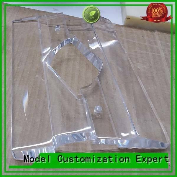 Custom acrylic Transparent Prototypes prototype Gaojie Model