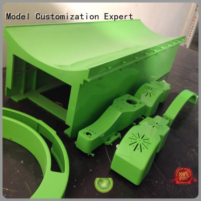 Hot cnc plastic machining toilets custom plastic fabrication headphones Gaojie Model