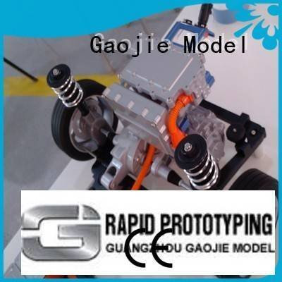 cnc plastic machining instrument models Gaojie Model Brand