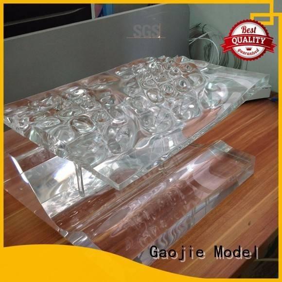 Custom Transparent Prototypes model quality prototypes Gaojie Model