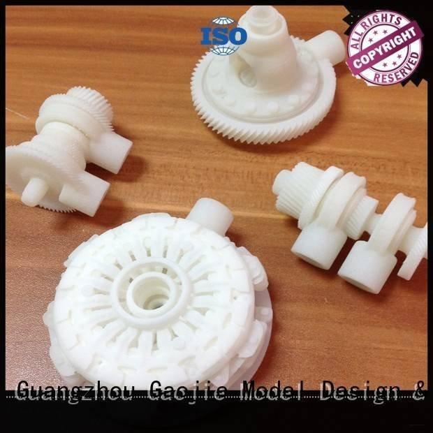 Gaojie Model Brand sintering toys 3d printing prototype service service sla