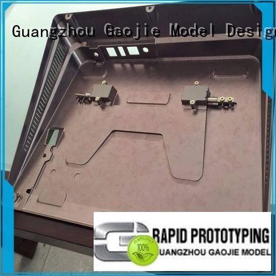 Gaojie Model Brand model company plastic prototype service box quality