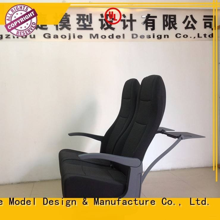 Gaojie Model cnc plastic machining qualified toy cnc graduate