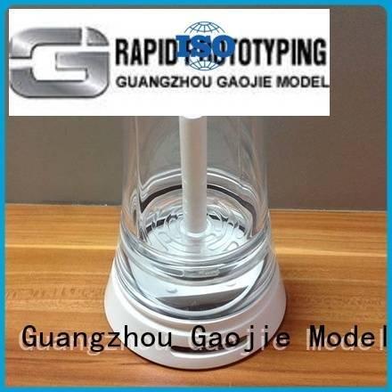 3d print transparent plastic competitive car Gaojie Model Brand