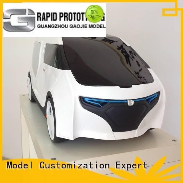 Gaojie Model Brand metal acrylic energy custom plastic fabrication abs