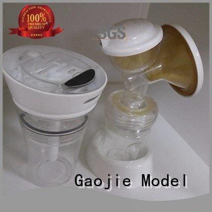 Gaojie Model 3d print transparent plastic quality bottles abs large