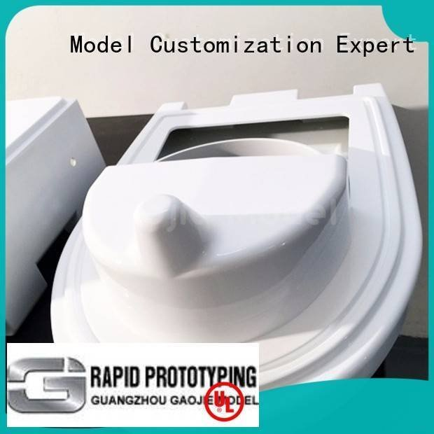 Gaojie Model Brand north factory cnc plastic machining abs qualified
