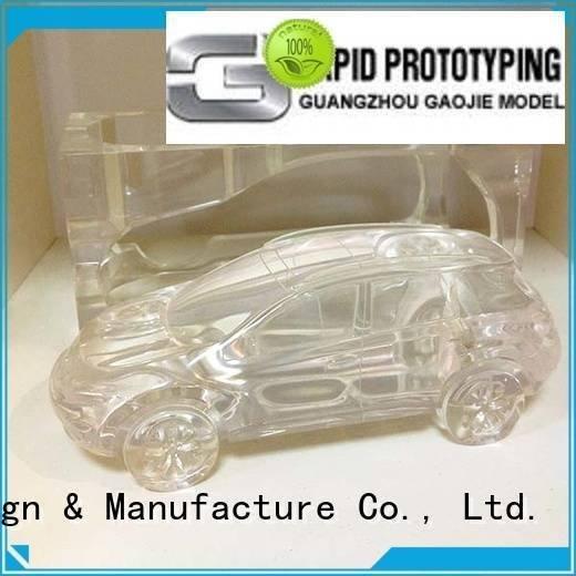 personalized Transparent Prototypes Gaojie Model 3d print transparent plastic