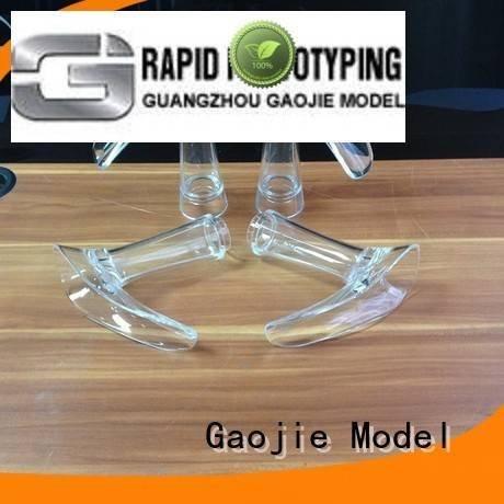 cnc cad Gaojie Model Transparent Prototypes