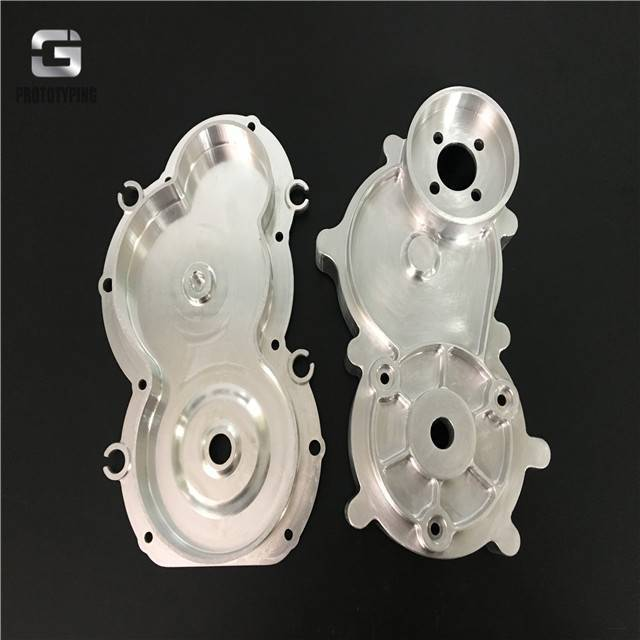 High polished surface aluminum components
