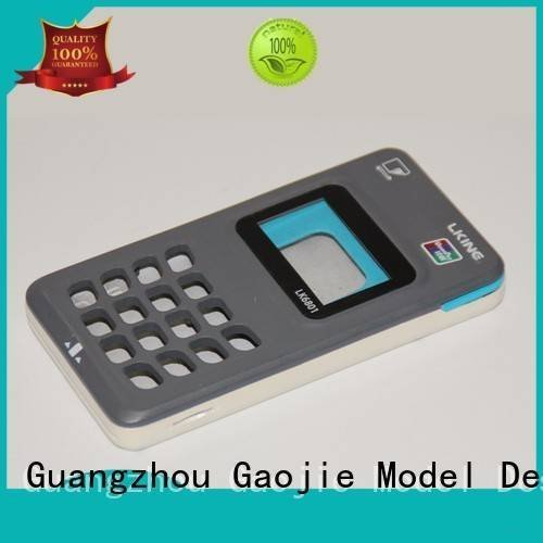 Gaojie Model Brand cnc toolbox services Plastic Prototypes prototyping