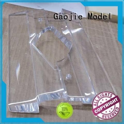 3d print transparent plastic high Gaojie Model Brand Transparent Prototypes