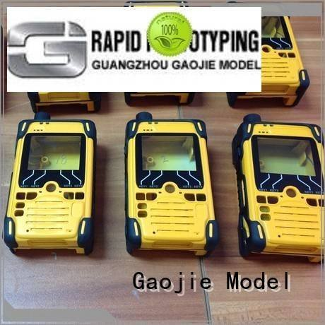 Gaojie Model Brand customized rapid prototyping companies parts rubber