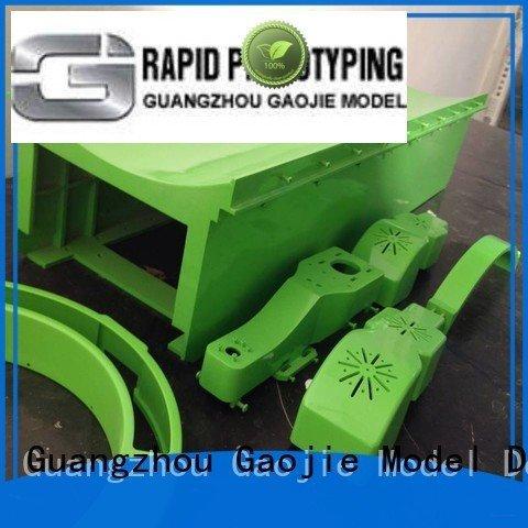 Hot cnc plastic machining machinery steel services Gaojie Model Brand