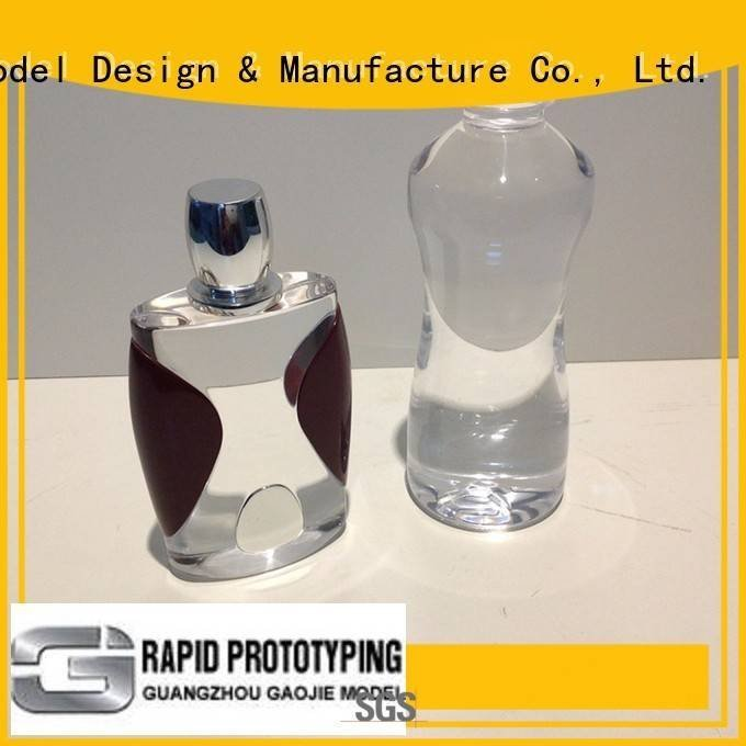 Gaojie Model Brand 3d prototype polished Transparent Prototypes
