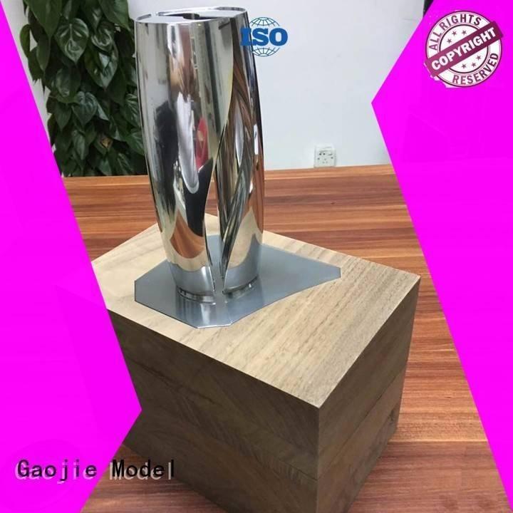 metal rapid prototyping mode aliumium wood parts Gaojie Model