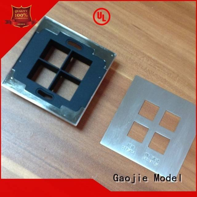 crafts milling Metal Prototypes chrome Gaojie Model