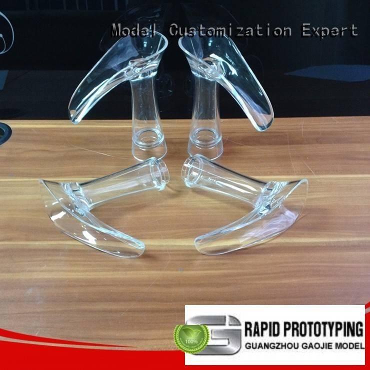 good service 3d print transparent plastic Gaojie Model