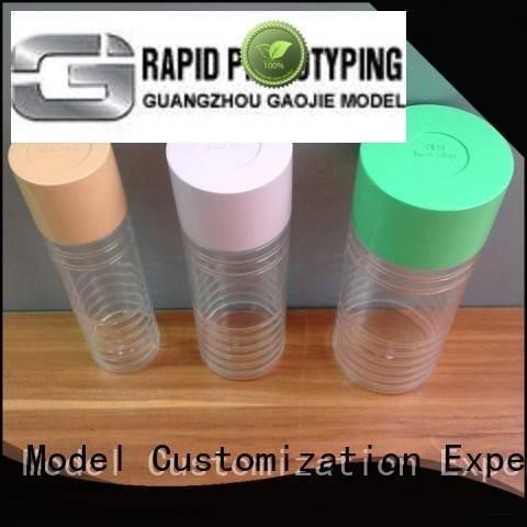 Gaojie Model Brand cad high 3d print transparent plastic cases good