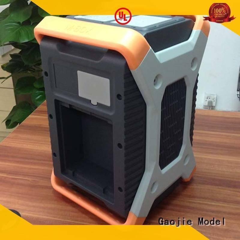 Gaojie Model plastic prototype service folding hairdryer parts robot