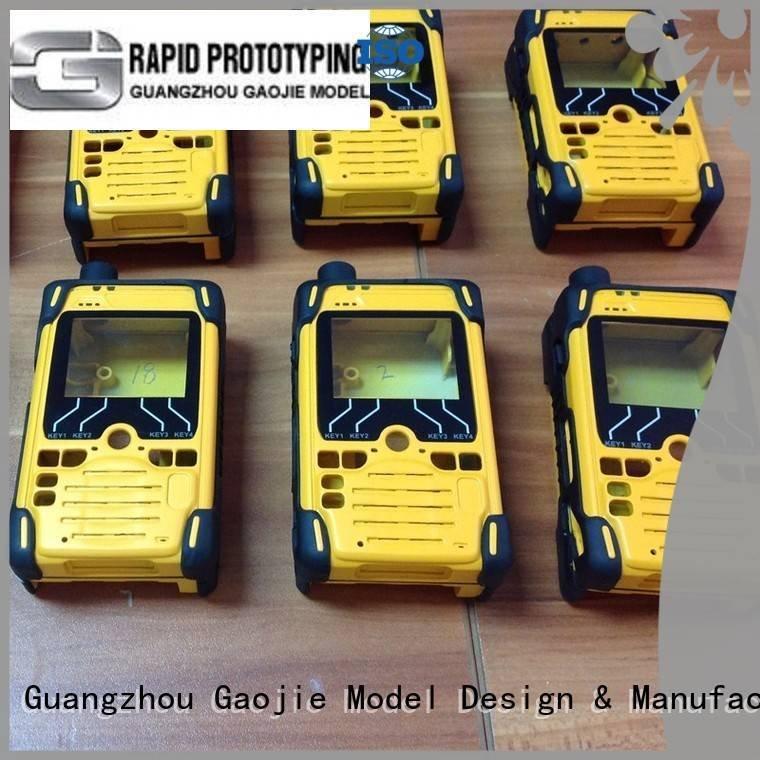 Gaojie Model Brand abs speaker vacuum casting vacuum lampshade