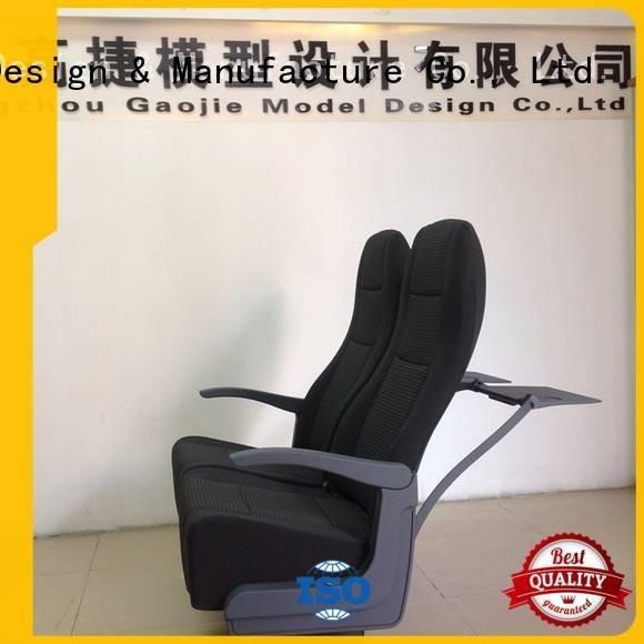 Gaojie Model Brand chair cnc plastic machining printing toilets