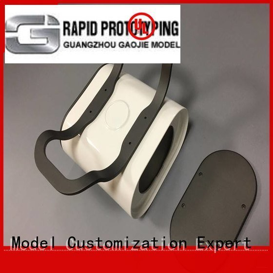 Gaojie Model pmma professional prototyping cnc plastic machining virtux