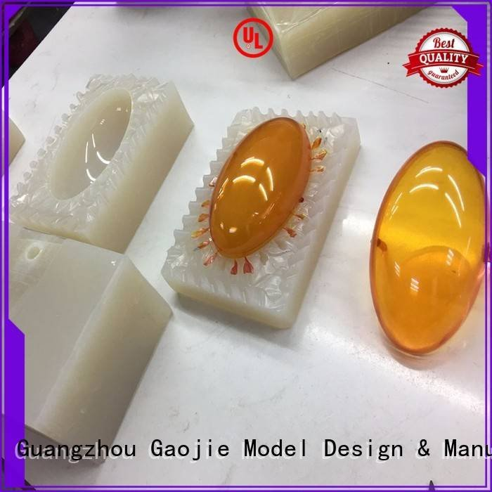 Hot rapid prototyping companies lampshade vacuum casting shell Gaojie Model
