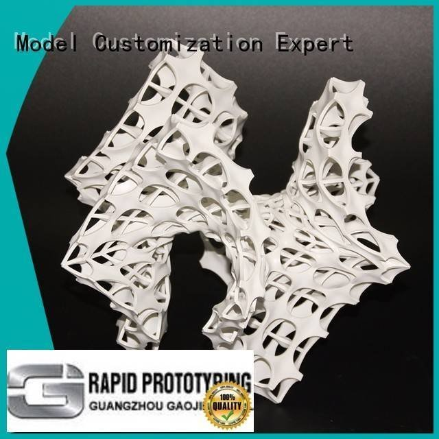 popular electroplated parts 3d printing prototype service Gaojie Model
